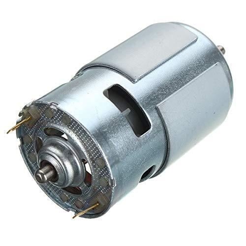 Herramientas de Bricolaje, 12V-36V 3500-9000RPM Grande de par Motor 775 DC