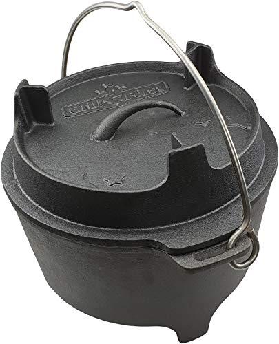 Grillfuerst Dutch Oven BBQ Edition DO6 v2 Gusseisen Feuertopf/Kochtopf