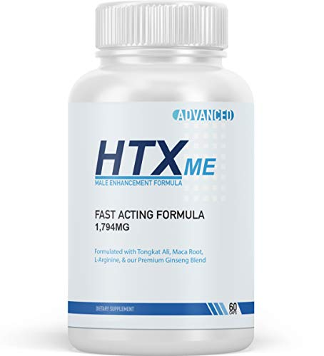 HTX me for Men - Advanced Male Enhancement Support - HTXme Pills Male Blend - 60 Capsules (1 Month Supply)