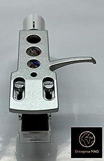 Titanium - Soporte para cabezal de cartucho para Audio Technica AT LP1240 USB, AT PL120