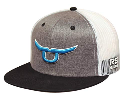 RopeSmart Trucker Snapback with Teal Steer