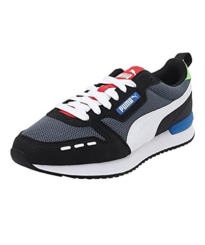 Puma R78, Zapatillas de Running Unisex Adulto, Castlerock White, 43 EU