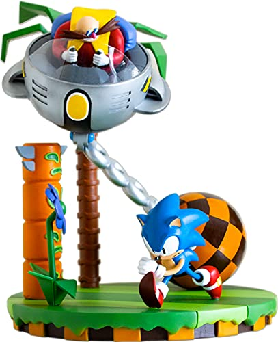Numskull Official SEGA Sonic & Dr Eggman 30th Anniversary Limited Edition Statue
