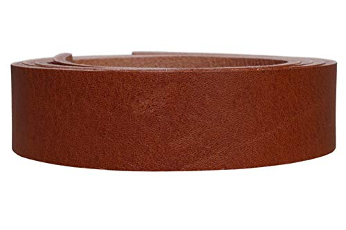 Vollrindleder Lederriemen Nevada, 4mm dickes Vollleder in 9 Oberflächen, Breite:4cm, Farbe:cognac weich