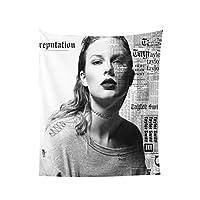 Taylor Swift Taylor テイラー·スウィフトテイラー タペストリー 壁掛け リビングルーム 寝室 寮の部屋 ホームデコレーション ポスター 多機能ファブリック装飾用品おしゃれ モダンなアート 模様替え 部屋 窓カーテン 個性ギフト 60*51inch