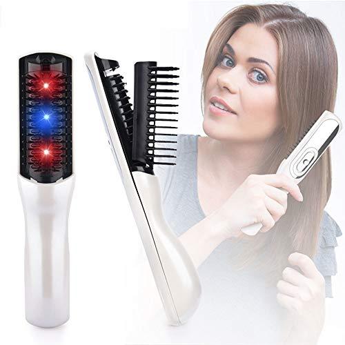 Massage électrique Brosse Anti perte de cheveux croissance des cheveux Stress Relax Massager Scalp Peigne croissance électronique cheveux infrarouge brosse à cheveux