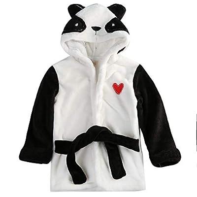 Toddler Baby Girl Animal Bathrobe Hooded Bath Towel Lovely Bathing Blanket 0-5Years