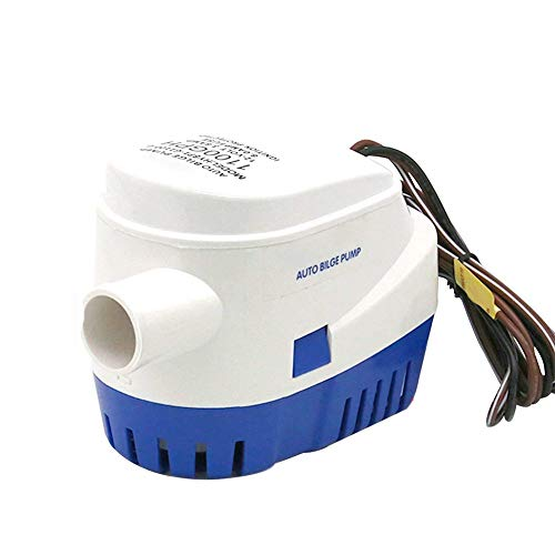 Iycorish 12V Auto Bilge Pump 1100 GPH Automatische Boots Pumpe für Aquarium Tauch Wasser Flugzeug Wohnmobile Hausboot Boot