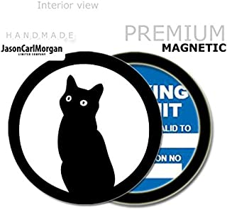 Red JasonCarlMorgan JCM Fire Skull MOT License Tax Disc Permit Holders