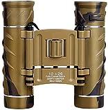 Binoculares para observación de Aves Binoculares con Binocular Compacto para montañismo Espectáculos de observación al Aire Libre Viajes Senderismo Eventos Deportivos Conciertos