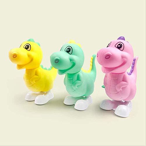 Vbtsqp 3 Piezas de dragón Saltador, Animal de Dibujos Animados, Dinosaurio pequeño, Juguetes para niños, Juguetes pequeños/Regalos de cumpleaños