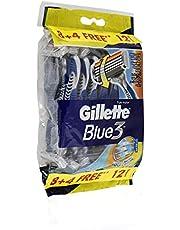 Gillette Blue 3 Disposable Razor - 12 Pieces