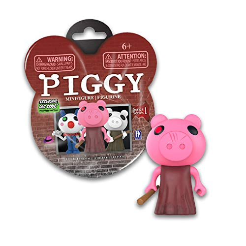 """Piggy - Minifigure Mystery Pack (3"""" Single Figure, Collect All 14, Series 1) [Includes DLC Items]"""