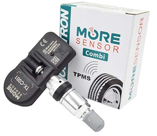 MOBILETRON Sensor TPMS More, 433 MHz, Sensor de Control de presión de neumáticos con Abrazadera, preprogramado para Citroen Dispatch/Jumpy, Fiat Scudo, Toyota Proace TX-S144