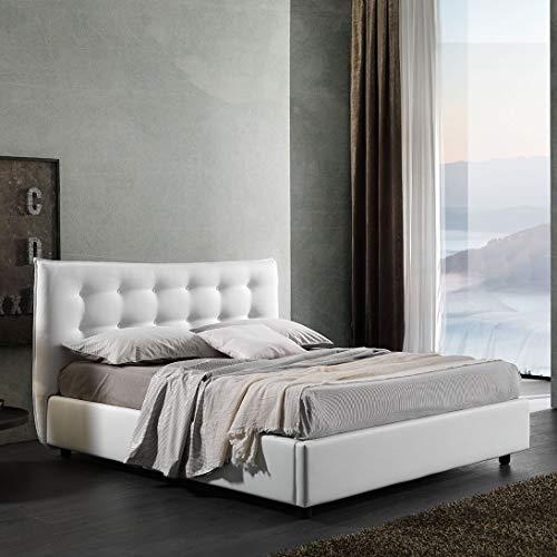 Letti Per Dormire.it - Letto Matrimoniale con Contenitore Stella Imbottito King Size 160x190