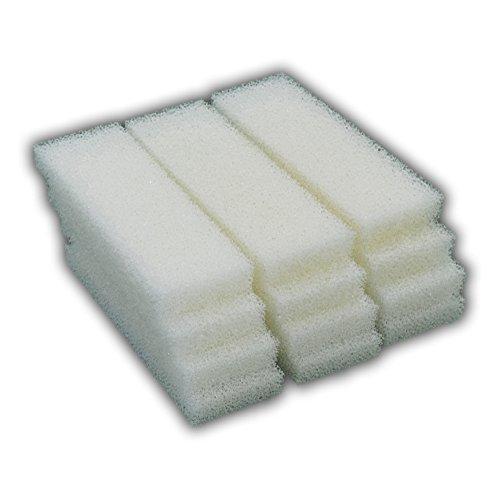 Zanyzap 12 Foam Filter Pad Inserts for Hagen Fluval 204, 205, 206, 304, 305, 306 (A-222)