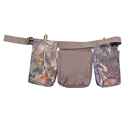 TPoplar Dove Belt, Field and Game Belt, Shooting Belt, Adjustable, Camo for Outdoor