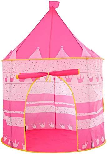 Luebel Pink Pop up Play Tent Castle Playhouse Kid Girls Children Outdoor/Indoor Game UK