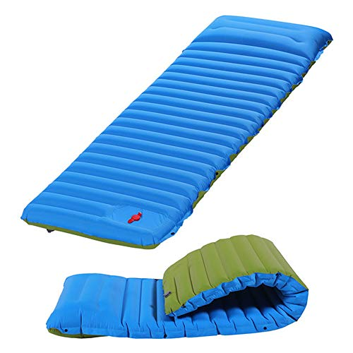 3.93in Thickness 76.7in Length Sleeping Pad Inflatable Camping Mat Ultimate Air Mattress Compact Carry Bag Built-in Pump Waterproof for Backpacking Hiking Travel