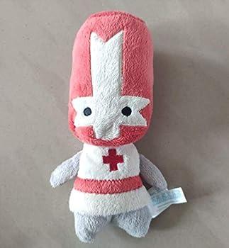 Detazhi Soft Toys,Castle Crashers Red Orange Knight Stuffed Plush Toy 20cm Set of 2  Color   Red