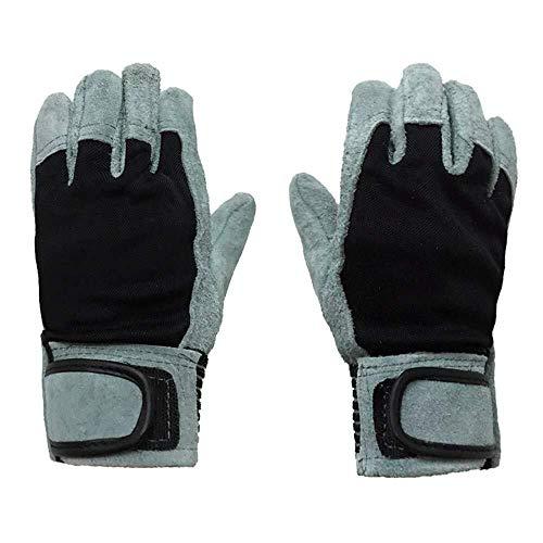 JIAHE115 Mini handschoenen Ideaal voor Tuin en Huishoudelijke Taken Isolatie Slijtvast Hoge Temperatuur Welder Handschoenen Lederen Tuinhandschoenen Veilig voor Snoeien plant & Beste Gift Idea!