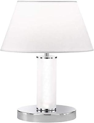 WOFI 10170 Lampe de table, Métal, Chrom
