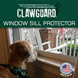CLAWGUARD Window Sill Protector - Strong Transparent Protection from Dog and Cat Scratching, Chewing, Slobbering and Clawing on Window Sills. Keep Paws Safe and Home Clean. (Clear 29.5 in. x 2.25 in.)