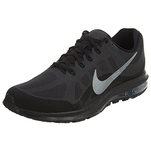Nike Men's Air Max Dynasty 2, Running, Black/Grey, 10 M US