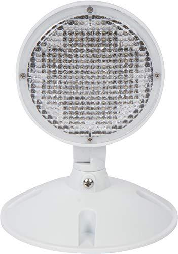 Morris Products Remote Emergency Light Head – Single Head LED Lamp, Weatherproof Emergency Exit Lighting – 3.6 Volts, 1.7 Watts