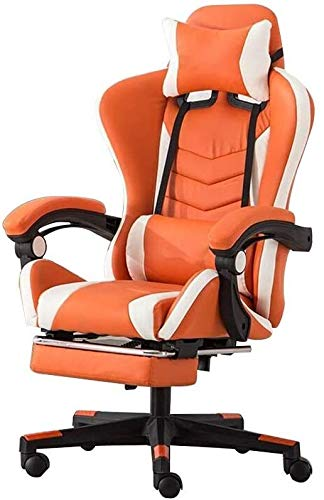 Barstools THBEIBEI Office Chair E-Sports Chair, High Back Gaming Chair Adjustable Office Chair with Footrest Computer Chair with Headrest and Lumbar Support Multi-Color Optional Athletic Chair