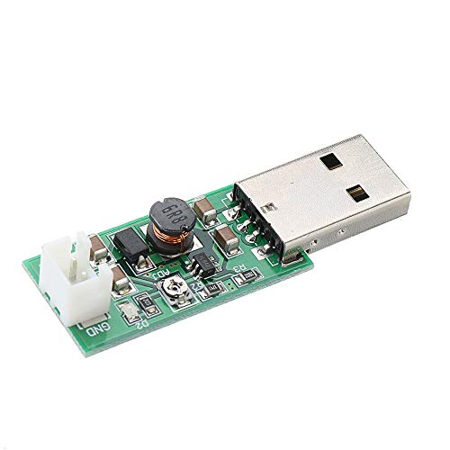 YEZIB Accesorios electrónicos de Bricolaje, TB293 7W USB DC a DC 5V a 6V 9V 12V 15V Convertidor de Salida Ajustable Step Up Module Boost Module para el Ventilador del Motor LED 10pcs