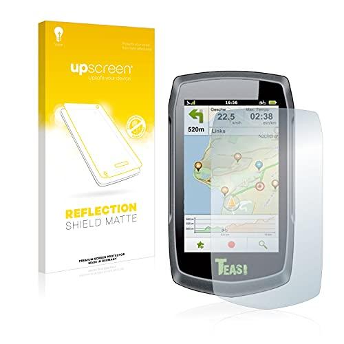 upscreen Entspiegelungs-Schutzfolie kompatibel mit A-Rival Teasi One Classic – Anti-Reflex Displayschutz-Folie Matt