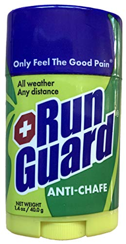 RunGuard Natural AntiChafe 14oz: Made with 100% PlantBased Ingredients Plus Beeswax Works for all distances from 5K walks/runs to 100 Mile Ultra Marathons