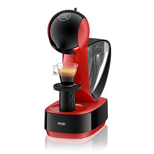 De'Longhi EDG 260.R| NESCAFÉ Dolce Gusto Infinissima | Kapsel Kaffeemaschine | Für heiße und kalte Getränke | 15 bar Pumpendruck für samtige Crema | Ferrari Red