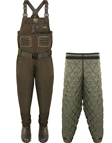 Drake Waterfowl Guardian Elite Breathable Chest Wader with Tear Away Insulated Liner - Regular, Green Timber, 13