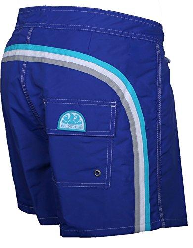 SUNDEK Low Rise Pantaloncini, Blu (True Blue), Small (Taglia Produttore:29) Uomo