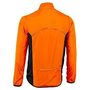 Deportes Hera Ropa Ciclismo Chaqueta Paraviento Wind Stopper y Repelente al AguaCiclistas Hombre Chubasquero