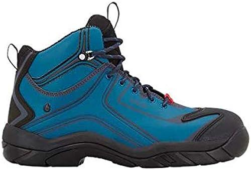 Enamarilloert Strauss 8p93.75.3.38zapatos de seguridad kajam, 38, Atoll azul oscuro