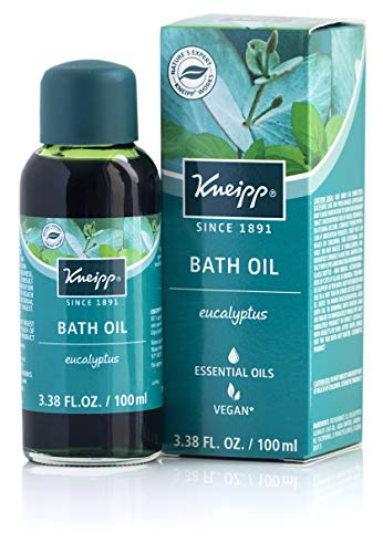 Kneipp Eucalyptus Herbal Bath Oil with Eucalyptus Essential Oil, 3.38 fl oz.