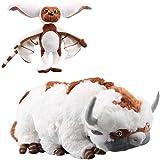 2pcs Avatar Last Airbender Appa Momo Peluche muñecos de Peluche 45cm