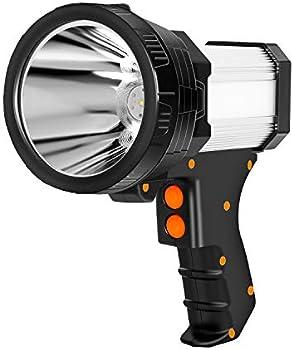 Sanlinkee 6000 Lumens Rechargeable LED Spotlight Flashlight