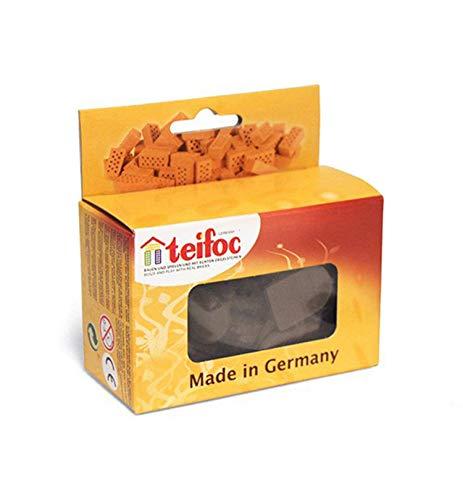 Teifoc Teifoc-T903603 New Classic Toys construcción–t903603–Azulejos–Gran Modelo–50Piezas, Multicolor (Eitech