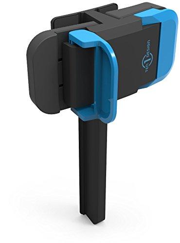 Ten One Design Mountie - Soporte con Clip para Dispositivos Apple, Negro y Azul