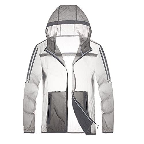 Protección solar ropa mujer verano delgada chaqueta cortavientos con capucha exterior