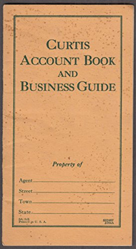 Curtis Publishing Boy Salesman's Account Book & Business Guide to Selling 1930s