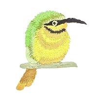 Vi.yo 可愛い動物ワッペンアップリケ 装飾パッチ 鳥 刺繍 女性 衣装飾り アクセサリーパーツ