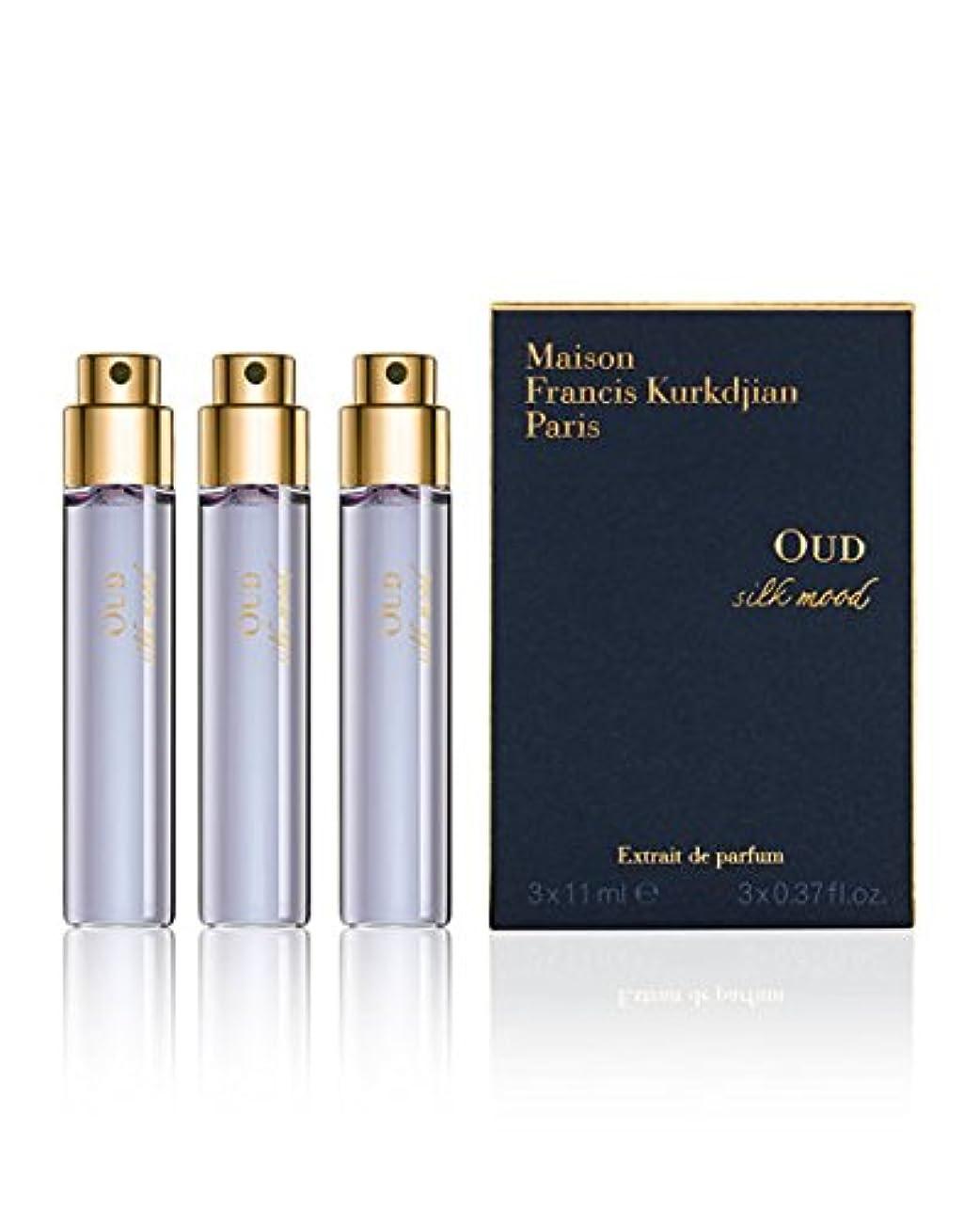 怪物宮殿プレートMaison Francis Kurkdjian OUD silk mood (メゾン フランシス クルジャン ウード シルク モッド) EDP Spray Refill 0.37 oz (11ml) x 3個 EDP Spray Refill