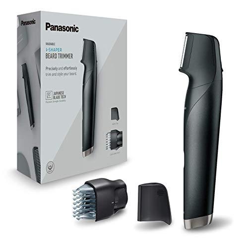 Panasonic ER-GD51-K503 Design-Trimmer, abwaschbar, 3in1: Rasierer und Bartdesigner schwarz