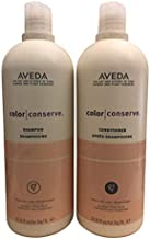 Aveda Color Conserve Shampoo and Conditioner 33.8oz Helps Protect Hair Color and Prevents Fading