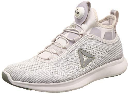 Reebok Pump Plus Ultk, Chaussures de Running Garçon, Multicolore-Lilas/Gris (Lilac Ash Whisper Grey Asteroid Dust), 35.5 EU